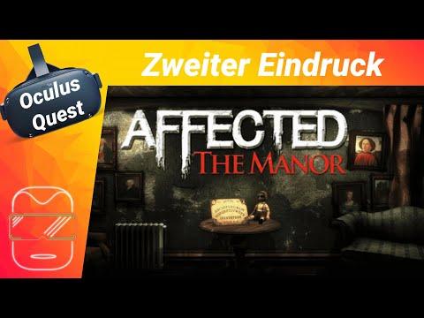 Oculus Quest [deutsch] Affected The Manor: Horror VR | Virtual Reality Spiele Deutsch