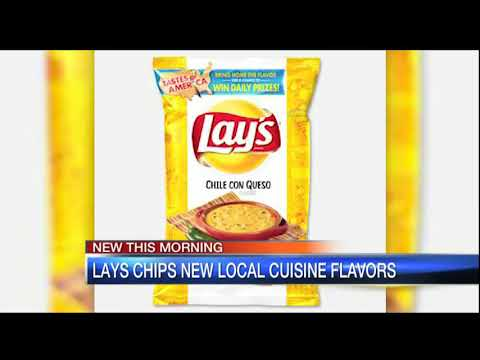 Video: Lay's  releases 8 new 'local cuisine' flavors 6am July 19, 2018