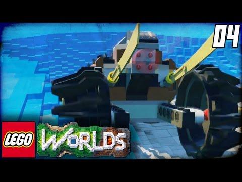 "Lego Worlds Part 4 - ""WE BROKE THE GAME!!!"" (Lego Open World Sandbox Gameplay)"