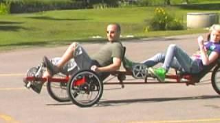 The Viking Recumbent Tandem Trike
