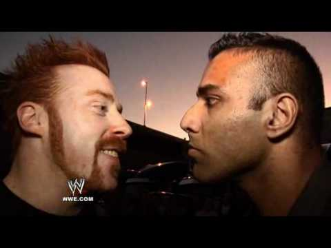 WWE.com Exclusive: Sheamus Clashes With Jinder Mahal While Passing Through The
