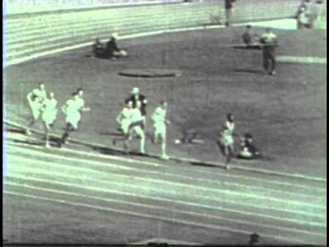 Tom Courtney 1956 Olympic 800 Meter Track