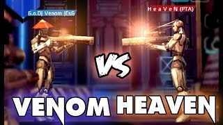 HeaVen vs Venom | Batalla de rap | Shadowgun Deadzone Snipers