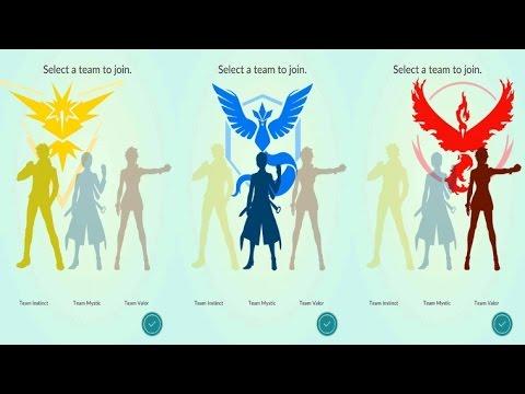 Pokemon Go: How To Change Teams - (Pokemon Go Change Teams)