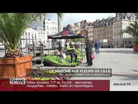 Le marché aux fleurs de Lille