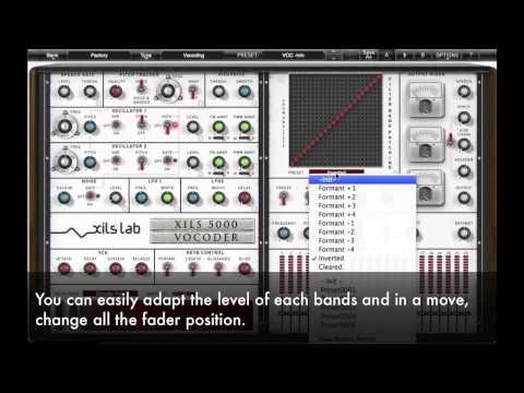 XILS Vocoder 5000 : Matrix Patch and Slew Rate Tutorial
