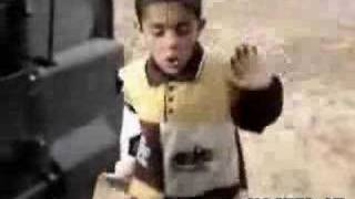 American Soldier gives Iraq kid candy grenade