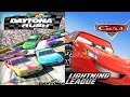 Disney Cars 3 Lightning McQueen League VS Daytona Rush Nascar Racing Games for Kids