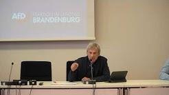Dr. Christoph Berndt: Wir werden keine Ruhe geben!