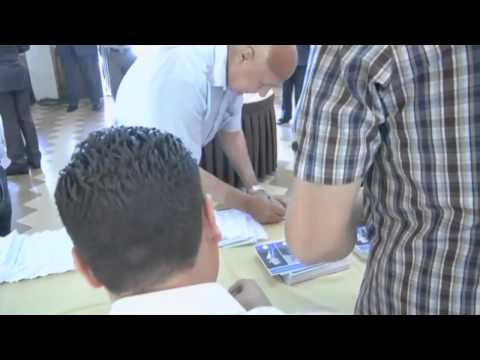 Syria Election  Assad supporters cast ballots with blood