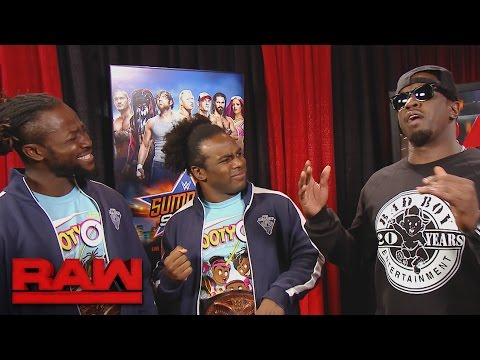 Puff Daddy meets The New Day: Raw, Aug. 8, 2016