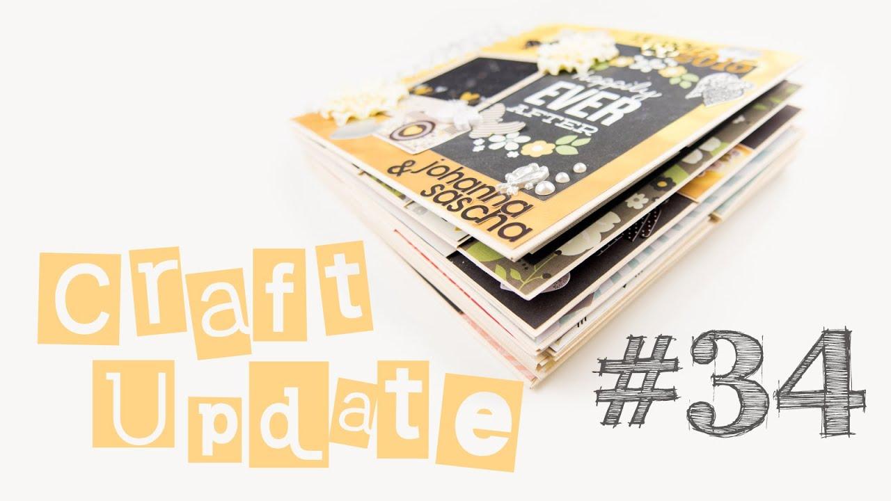 craft update 34 fotoalbum zur hochzeit diy inspiration geschenk ideen youtube. Black Bedroom Furniture Sets. Home Design Ideas