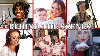 Holidays with Kids! (MUSIC VIDEO) | BEHIND THE SCENES