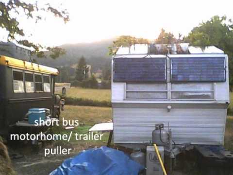 Off grid Solar Travel Trailer RV Energy star everything