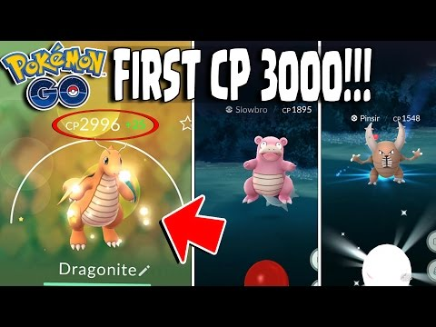 Pokemon GO | CP 3000 DRAGONITE!! & Super Rare Pokemon Catches! First CP 3000 Pokemon!