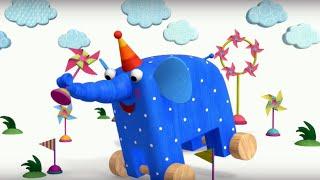 Теремок песенки для детей Деревяшки Ветерок Мультики для детей и малышей про животных