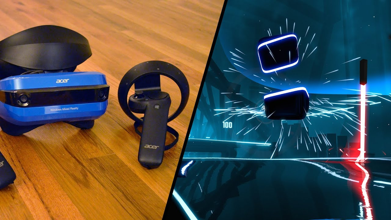 Watch Windows VR Controllers Stand up to 'Beat Saber's' Hardest Song