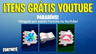 FORTNITE-HOW TO ACQUIRE FREE YOUTUBE ITEMS (ACCOUNT LINKING)
