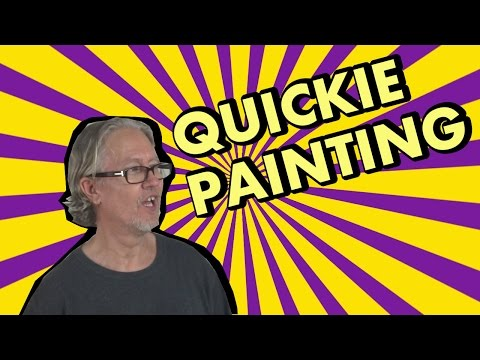 Acrylic Abstract Painting Technique - How to Paint Abstract Art