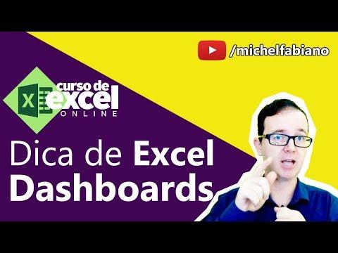 Como fazer uma Dashboard no Excel   Tabelas Dinâmicas