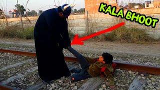 New Kala Bhoot vs Train Kala Bhoot ki Jadui Angoothi bhoot new video