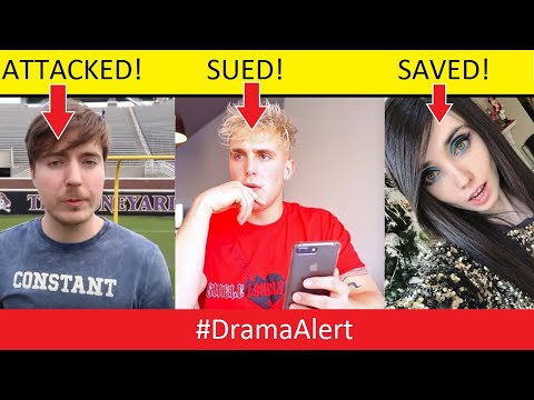 MrBeast ATTACKED! - Jake Paul SUED! - Eugenia Cooney SAVED! #DramaAlert