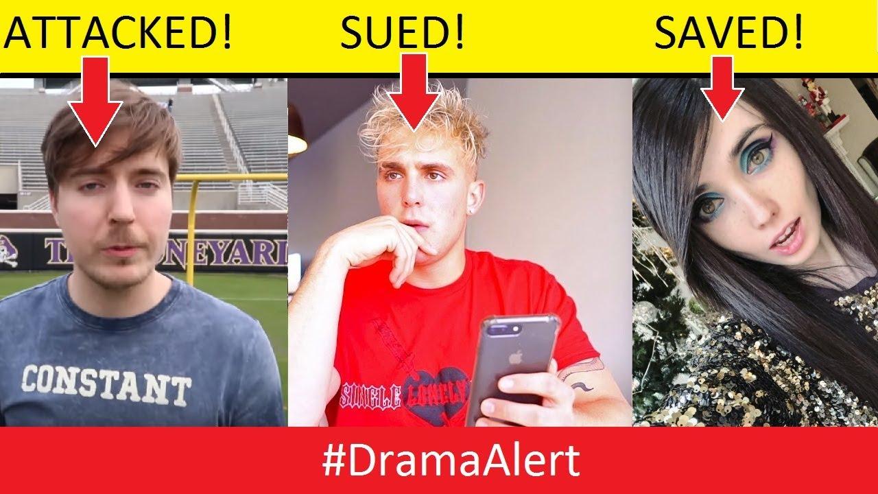 Download MrBeast ATTACKED! - Jake Paul SUED! - Eugenia Cooney SAVED! #DramaAlert