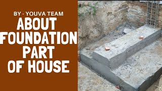 FOUNDATION OF HOUSE in hindi