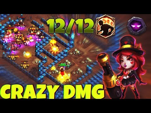 12/12 Heart Breaker | 7 Unholy Pact Insignia | INSANE DUNGEONS | CASTLE CLASH
