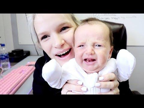 I Bring My Newborn To Work!
