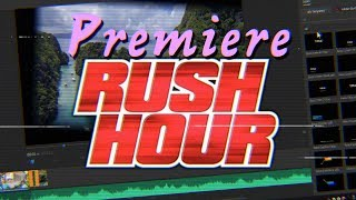 "A TRUE ""YouTuber"" video editor - Adobe Premiere Rush CC Walkthrough & first impressions"