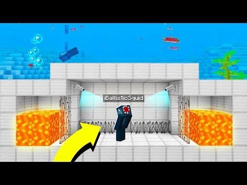 TRAPPED 10,000 BLOCKS UNDERWATER  - Minecraft Adventure #1
