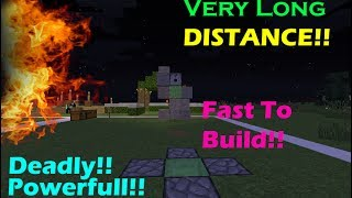 Minecraft Redstone Tutorial Indonesia #4 Reversed TNT Mortal/Cannon