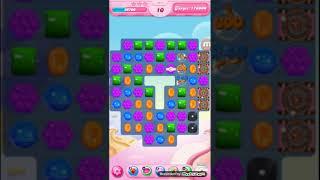 candy crush level 1617 no booster 糖果第1617關(無道具)