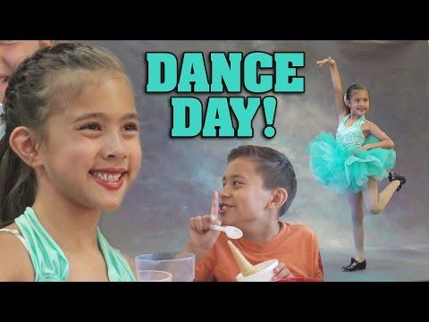 DANCE DAY!!! Evan Steals a Gumball!