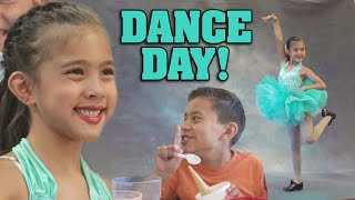 DANCE DAY!!! Evan Steals a Gumball!