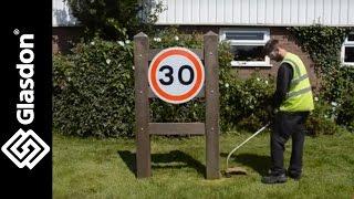 Glasdon   How To Maintain   Gateway Boundary Signage