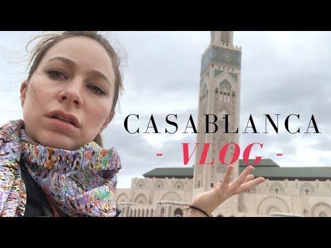 CASABLANCA MOROCCO CITY TOUR - Travel Vlog