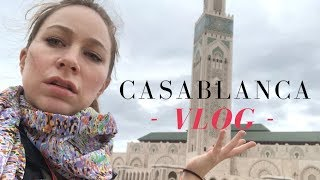 CASABLANCA MOROCCO CITY TOUR - Travel Vlog