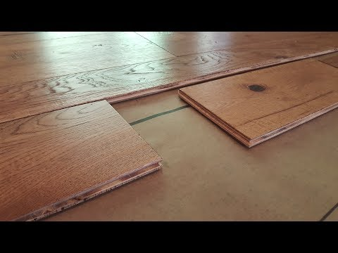 How To Install Engineered Hardwood Flooring