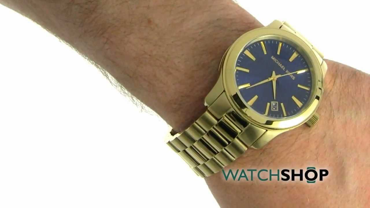 772b60b91b7 Men s Michael Kors Chronograph Watch (MK7049) - YouTube
