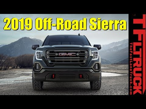 2019 GMC Sierra 1500 AT4 Off-Road Live Debut: TFLfront Row