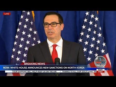 LIVE: URGENT WHITE HOUSE Briefing Announces New NORTH KOREA Sanctions 9/21/17