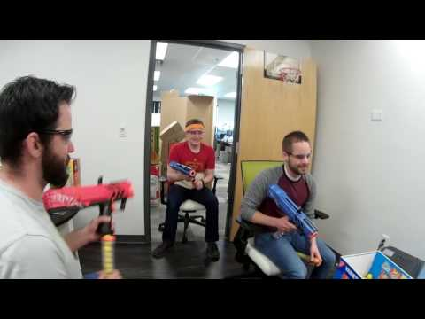 Nerf Rival Office War - Office Chair Nerf - 3/28/2017