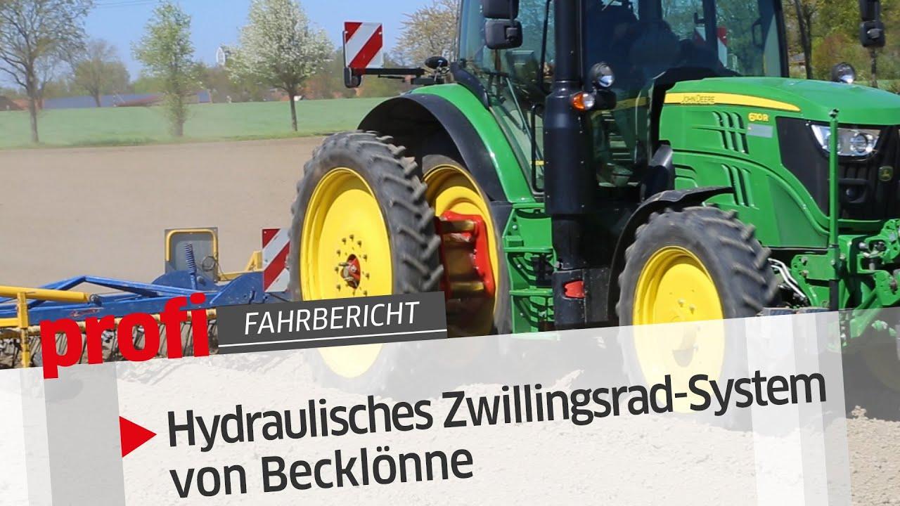 Becklönne: Hydraulisches Zwillingsrad-System | profi #Fahrbericht