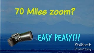 Incredible 50 and 70 miles ZOOM - Nikon coolpix P900, how far can we see?
