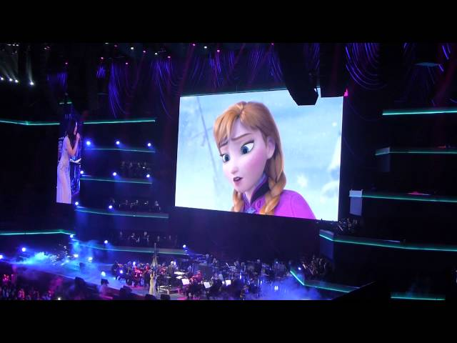 Let it go - Frozen - Disney in concert - Ziggodome