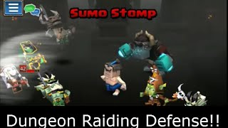 Dungeon Raiding - Defending Team and other Tips (Dungeon Boss Game)