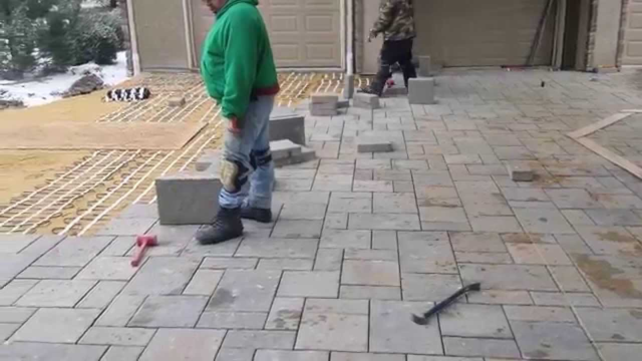Heated Driveway Project Youtube