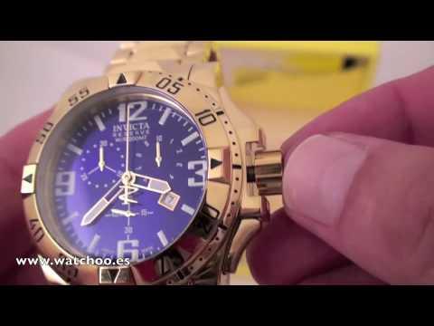 Reloj Invicta 5676 - dorado azul - 53 db7b36d4d917